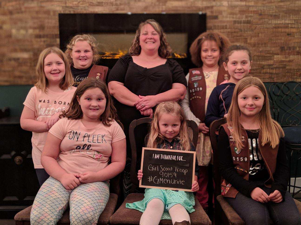 In Pictures: Scout Troop 90159 Shares What They're Thankful For