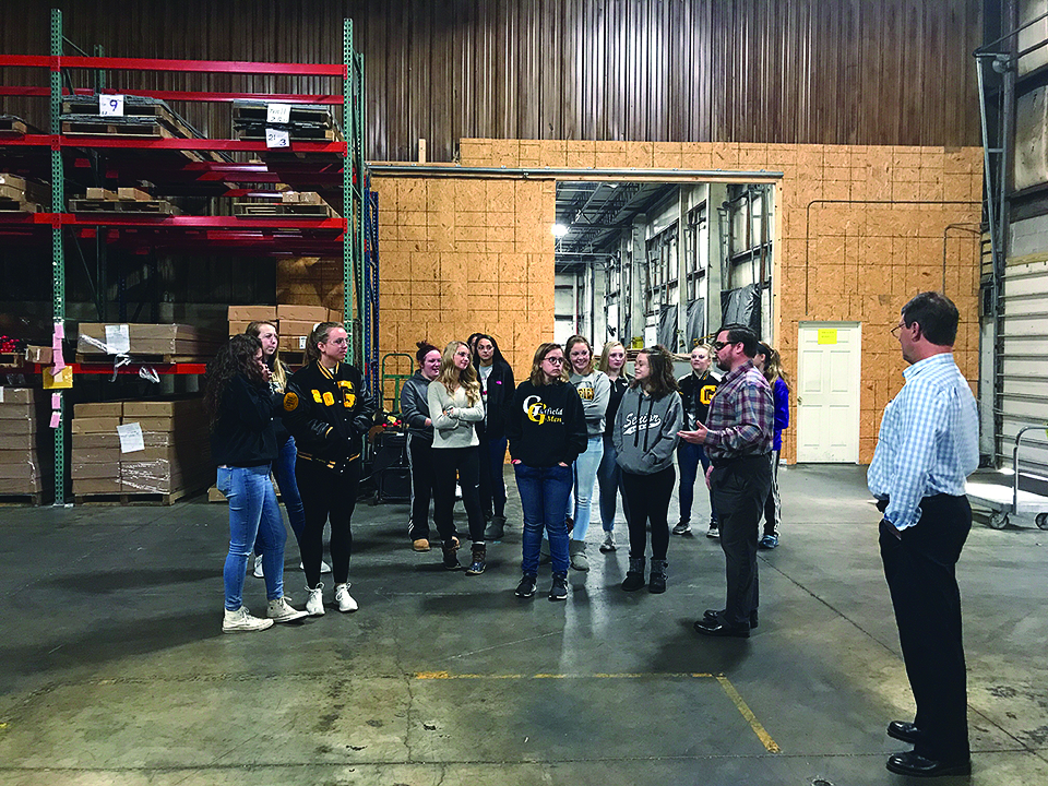 Diskin Enterprises Welcomes J.A. Garfield Students