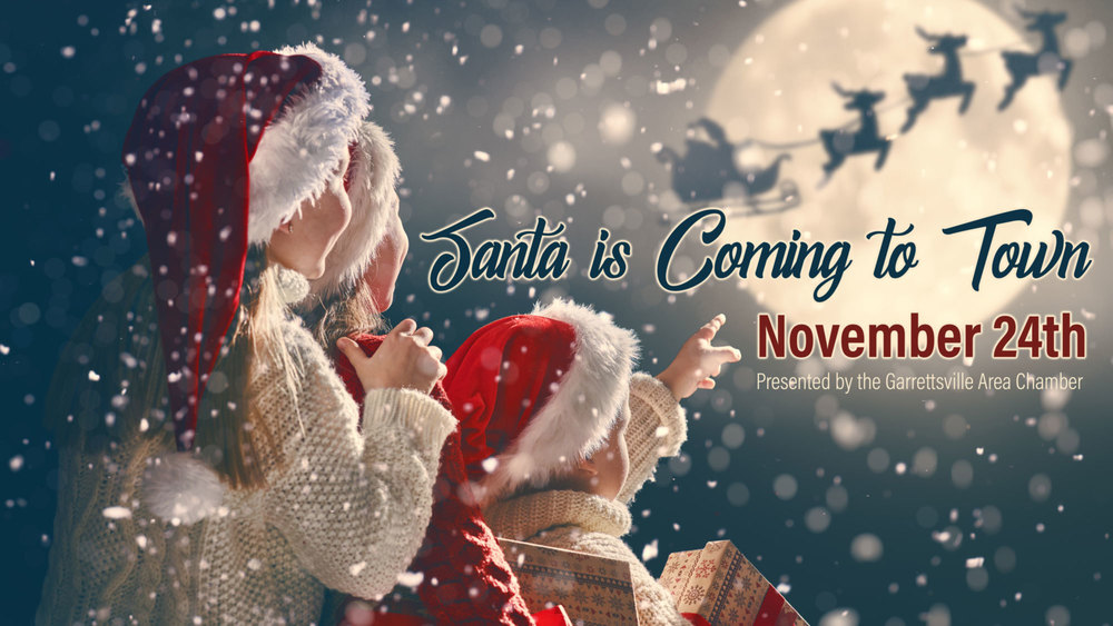 Join Mrs. Claus and Santa in Garrettsville