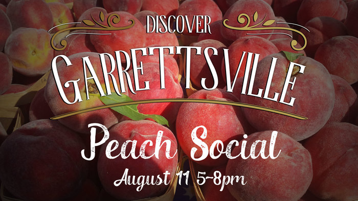 Peach Social in Garrettsville Ohio