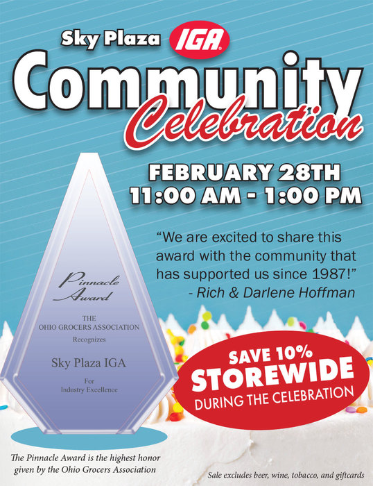 Sky Plaza IGA Community Celebration | February 28th