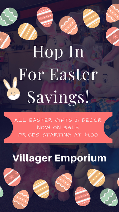 Villager Emporium Easter Sale
