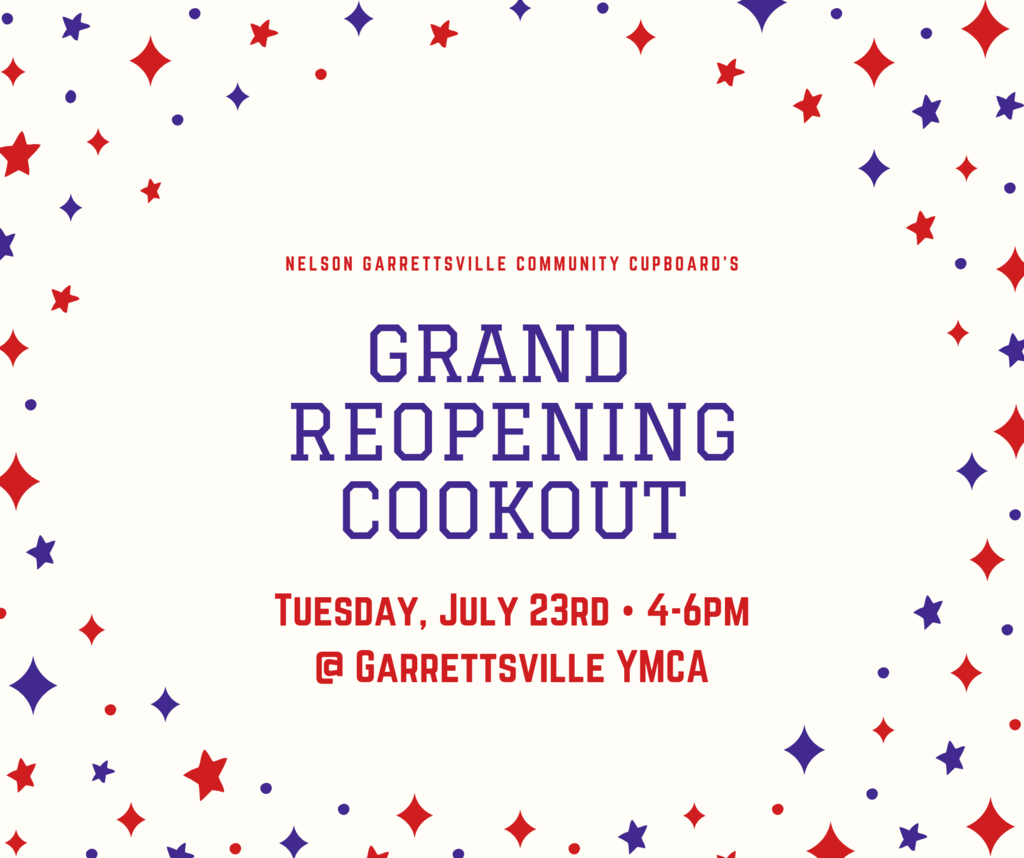 Grand Re-Opening Cookout