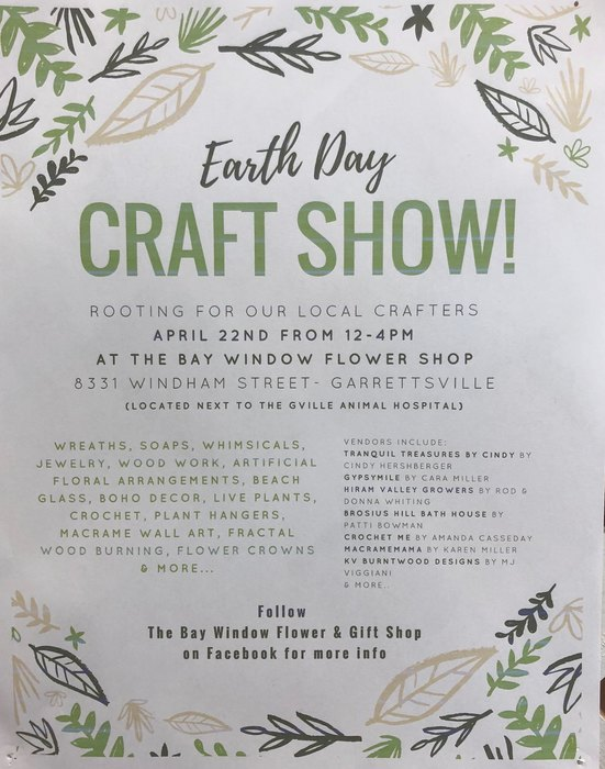 Earth Day Craft Show